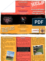 Fireworks Safety Brochure - Hawaii County