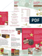Chapters Bookstore Brochure Christmas 2009