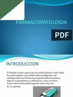 FARMACOPATOLOGIA