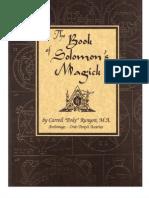 Book of King Solomon Magic