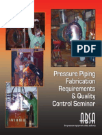 ABSA - Pressure Piping Fabrication Requirement & QC Seminar - Selected Pages