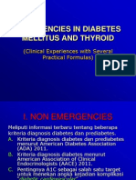 Emergencies in Diabetes Mellitus