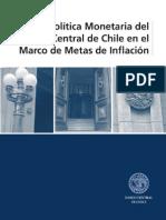 POLITICA MONETARIA DEL BANCO CENTRAL DE CHILE