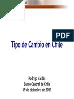 Tipo de Cambio Chile
