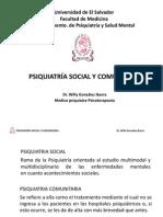 Psiquiatria Social y Comunitaria