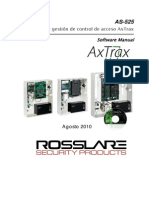 As-525 Axtrax Software Manual - 080810 - Spanish