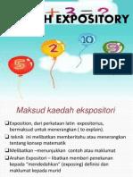 7 Expository