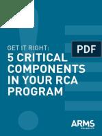 5 Critical Factors RCFA