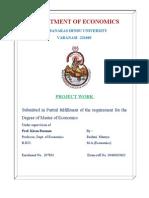 A Dissertation for Economics