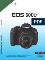 Manual Canon 600D t3i