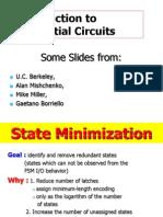 LECTURE B 1 FSM Minimization Intro