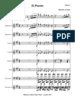 El Puente.orquesta e Instrumentos.solfeo y Cifra