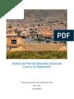 Analisis Del Plan de Desarrollo Urbano Del Cusco Terminado
