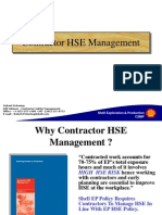 Contractor Safety Management Process