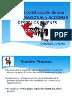 Miguel Samanez Presentación de La CONADES Juvenil y Declaratoria (2)