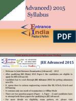 JEE Advanced Syllabus by Entranceindia