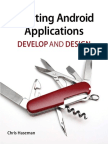 Creating Android Applications Develop and Design
