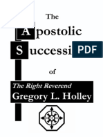 Apostolic Succession Holley