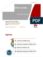 WCDMA 3G2G Co-site Solution