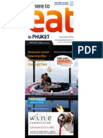 Where to Eat Phuket July - August 2014