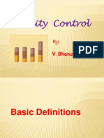Quality Control guide