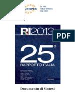 new concept c93ff f28a1 EURISPES Sintesi Rapporto Italia 2013