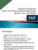 Pedoman Pengisian BCHP Ditlitabmas 2013