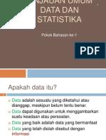 Materi Ke 1 KOnsep Data Dan Statistika Sept 2010