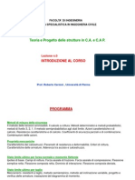 Corso Strutture in Calcestruzzo Armato (i Modulo)