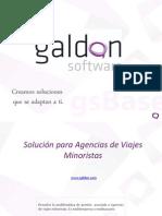 Software ERP Agencia Viajes Galdon