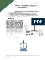 Laboratorio 1 - Carga Electrica y Cuerpos Electrizados
