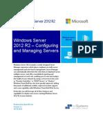Windows Server 2012 Multi-Server Management