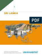 UN-Habitat Country Programme Document 2008-2009 - Sri Lanka