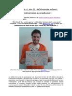 Interview d'Alexandre Valensi Le 11-06-14