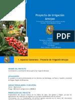 Proyecto de Irrigación Amojao Final1