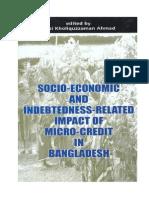 Socio-Economic and Indebtedness Related Impact of Micro-Credit In Bangladesh -  Qazi Kholiquzzaman Ahmed (Editor)