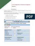Warehouse Management - WM Config Guide