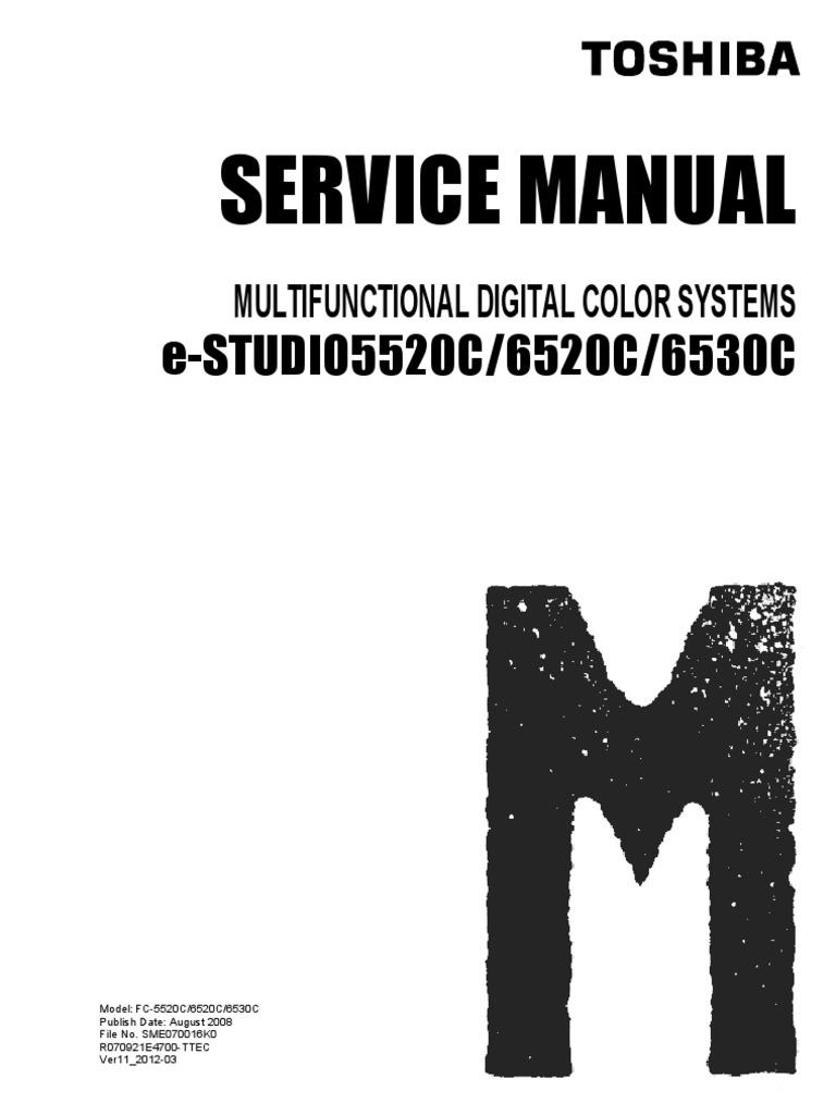 [LOCK SECURITY 448 BIT] Toshiba e Studio 5520c 6520c 6530c Service Manual |  Image Scanner | Microsoft Windows
