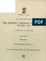 Bombay Primary Education Act