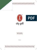Meniu Mancare - City Grill