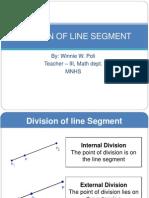 Division of Line Segment