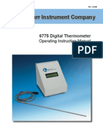 545M Parr 6775 Digital Thermometer Inst