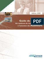 SMI Guide QSE Auditeurs Janvier 2008