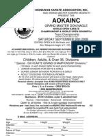 AOKA Inc 2008 Tournament