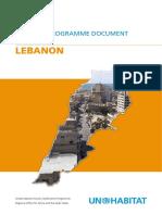 UN-Habitat Country Programme Document 2008-2009 - Lebanon