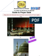 Guide to Prayer Salat Sample