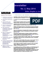 ENCLS Newsletter 2 May 2014