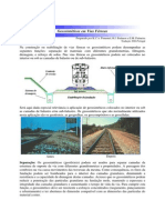 Geossinteticos Em Vias Ferreas