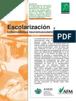 Escolarización y Enfermedades Neuromusculares - ESTUDIO FRANCIA Mayo 2006