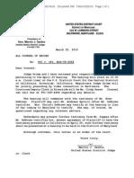 VSI vs CPI Letter